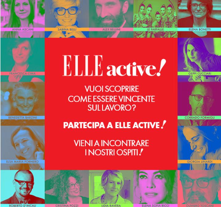 Empatia, creatività e capacità di relazione: alla scoperta dei propri talenti a ELLE Active 2019!